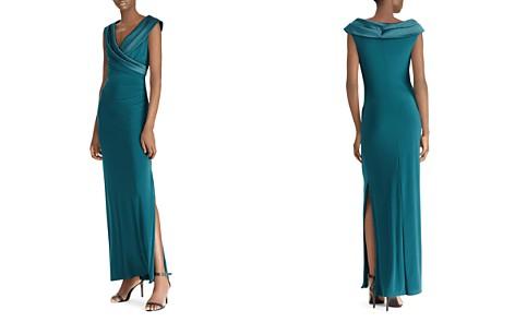 Lauren Ralph Lauren Surplice Off-the-Shoulder Gown - Bloomingdale's_2