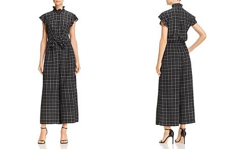 Rebecca Taylor Ruffled Plaid Silk Jumpsuit - Bloomingdale's_2