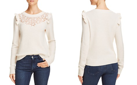 Rebecca Taylor Emilie Floral-Embroidered Pullover Sweater - Bloomingdale's_2