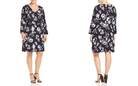 Adrianna Papell Plus Floral-Print Dress - Bloomingdale's_2