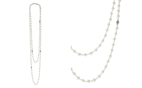 "LAGOS Sterling Silver Luna Cultured Freshwater Pearl Strand Necklace, 36"" - Bloomingdale's_2"
