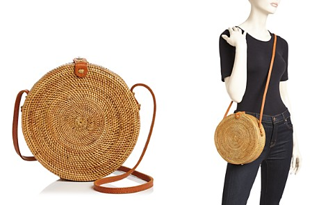 Street Level Large Straw Crossbody - Bloomingdale's_2