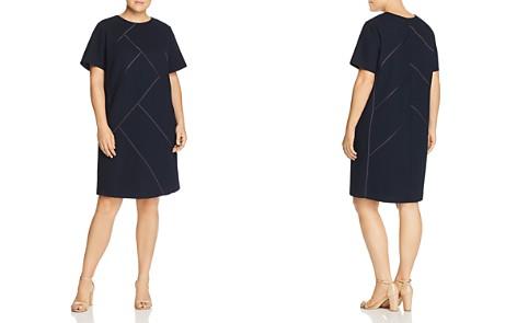 Lafayette 148 New York Plus Henora Wool Shift Dress - Bloomingdale's_2
