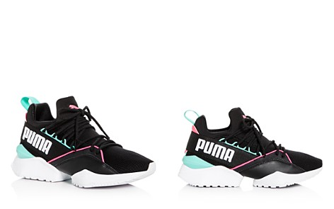 PUMA Women's Muse Maia Street Knit Lace Up Sneakers - Bloomingdale's_2