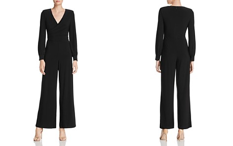 Adrianna Papell Draped Matte Jersey Jumpsuit - Bloomingdale's_2