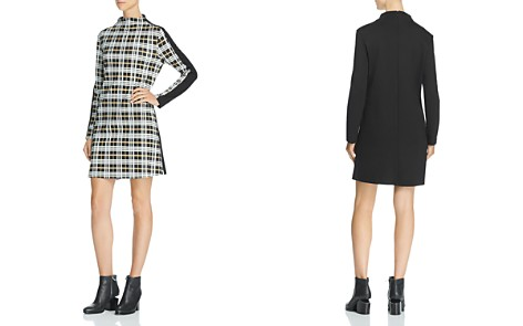 FRENCH CONNECTION Plaid-Front Dress - Bloomingdale's_2