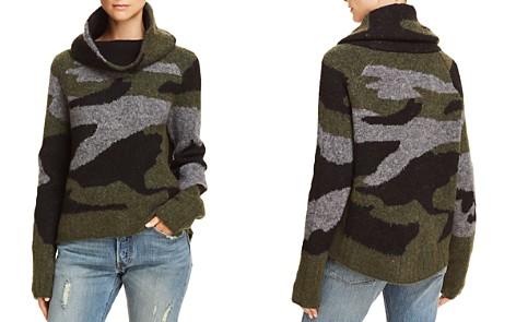 AQUA Camo Cowl-Neck Sweater - 100% Exclusive - Bloomingdale's_2