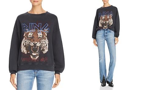 Anine Bing Tiger Graphic Sweatshirt - Bloomingdale's_2