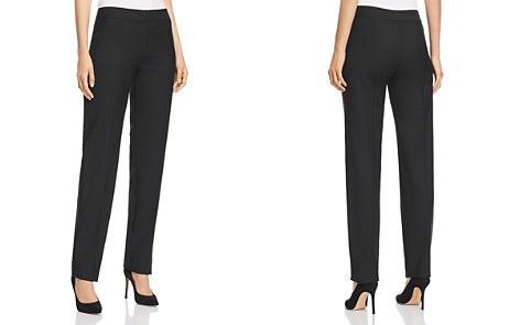 Emporio Armani Straight-Leg Pants - Bloomingdale's_2
