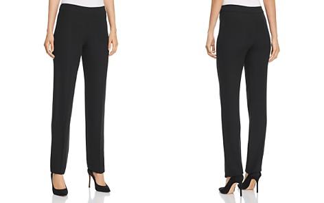 Emporio Armani Side-Zip Straight-Leg Pants - Bloomingdale's_2