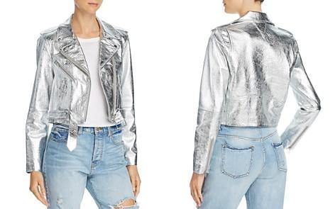 Veda Baby Jane Metallic Leather Moto Jacket - Bloomingdale's_2