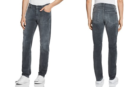 7 For All Mankind Slimmy Slim Fit Coruroy Pants in Gray - Bloomingdale's_2