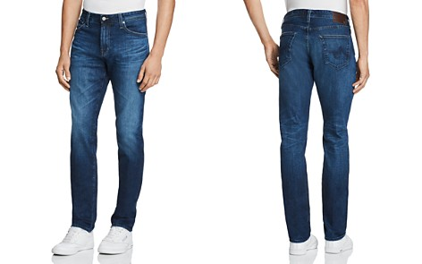 AG Jeans Everett Straight Slim Fit Jeans in 6 Years Poet - Bloomingdale's_2