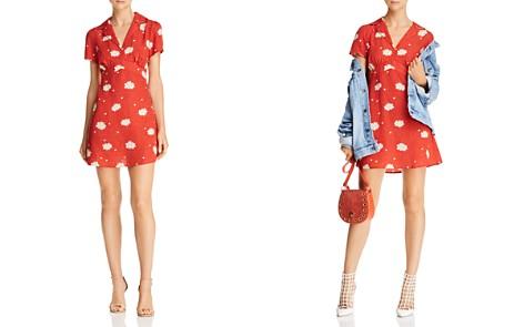 Cotton Candy LA Floral-Print Notch-Lapel Dress - Bloomingdale's_2