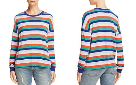 AQUA Striped Drop-Shoulder Top - 100% Exclusive - Bloomingdale's_2