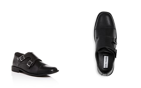 STEVE MADDEN Boys' Chaaz Leather Double Monk Strap Loafers - Little Kid, Big Kid - Bloomingdale's_2