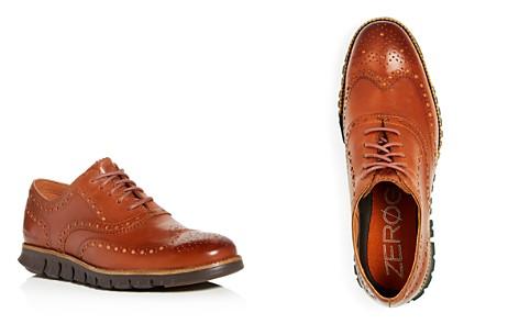 Cole Haan Men's ZeroGrand Leather Wingtip Oxfords - Bloomingdale's_2