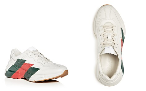 Gucci Men's Leather Lace Up Sneakers - Bloomingdale's_2