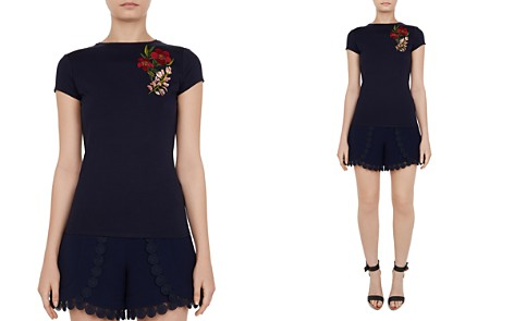 Ted Baker Laylar Kirstenbosch Embroidered Tee - Bloomingdale's_2