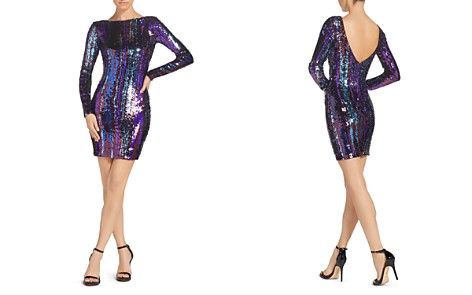 Dress the Population Lola Sequined Mini Dress - Bloomingdale's_2