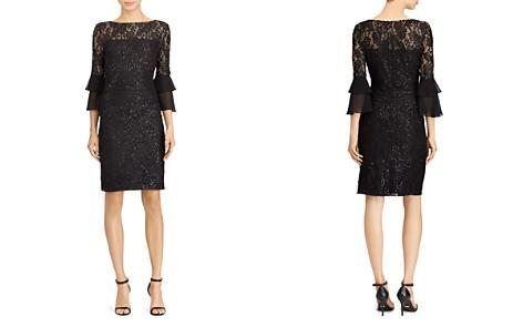 Lauren Ralph Lauren Petites Sequined Lace Dress - Bloomingdale's_2