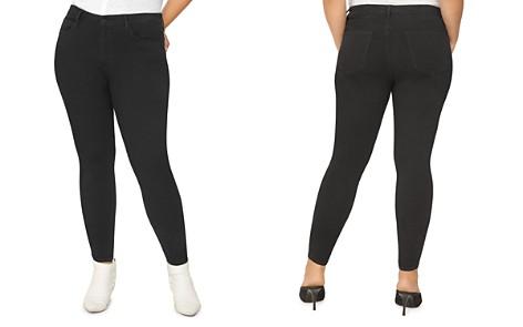 Sanctuary Curve Social Standard Skinny Jeans in Eyeliner - Bloomingdale's_2