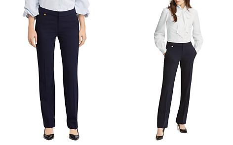 Lauren Ralph Lauren Straight-Leg Pants - Bloomingdale's_2