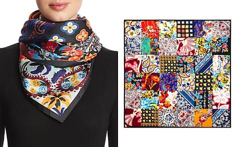 Echo Patchwork Print Silk Scarf - Bloomingdale's_2