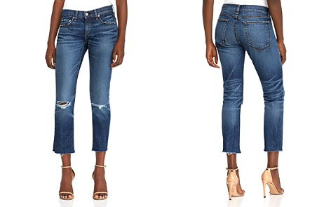 rag & bone/JEAN Distressed Ankle Jeans in Dia - Bloomingdale's_2