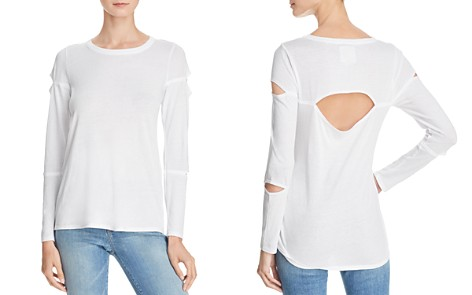 CHASER Cutout High/Low Tee - Bloomingdale's_2