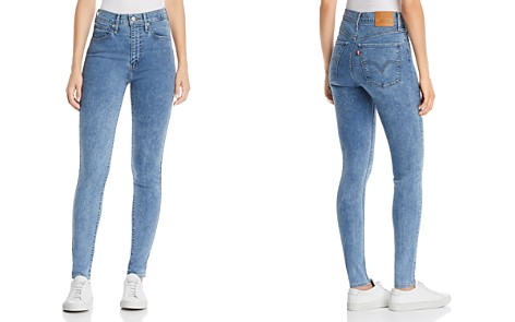 Levi's Mile High Super Skinny Jeans in Underrated - Bloomingdale's_2