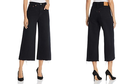 Levi's High Water Wide Leg Jeans in Damn Straight - Bloomingdale's_2