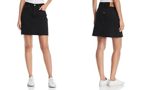 Levi's Everyday Denim Skirt in Charcoal Black - Bloomingdale's_2