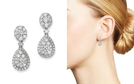 Bloomingdale's Diamond Drop Earrings in 14K White Gold, 1.65 ct. t.w. - 100% Exclusive_2