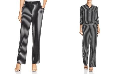 Equipment Lita Striped Silk Pants - Bloomingdale's_2