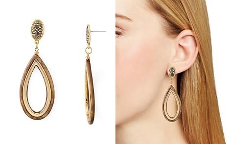 AQUA Two-Tone Teardrop Drop Earrings - 100% Exclusive - Bloomingdale's_2