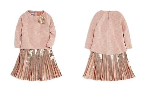 Pippa & Julie Girls' High/Low Top, Metallic Dress & Bloomers Set - Little Kid - Bloomingdale's_2