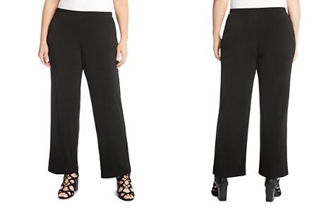 Karen Kane Plus Crepe Straight-Leg Pants - Bloomingdale's_2