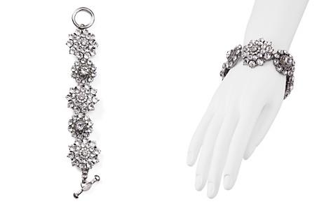 Oscar de la Renta Crystal Flower Toggle Bracelet - Bloomingdale's_2