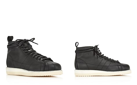 Adidas Women's Superstar Leather Lace Up Boots - Bloomingdale's_2