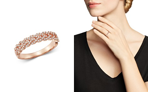 Bloomingdale's Diamond Braided Band Ring in 14K Rose Gold, 0.30 ct. t.w. - 100% Exclusive_2