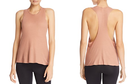 Alo Yoga Flow & Go Waffle-Knit Cropped Tank - Bloomingdale's_2