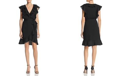 Lucy Paris Faux-Wrap Ruffle Dress - Bloomingdale's_2