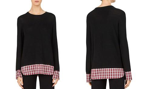 Gerard Darel Carole Layered-Look Sweater - Bloomingdale's_2