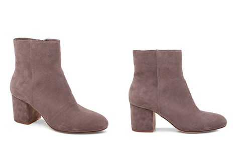 Splendid Nixie Women's Suede Block Heel Booties - Bloomingdale's_2