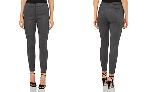 REISS Arla Jacquard Skinny Pants - Bloomingdale's_2