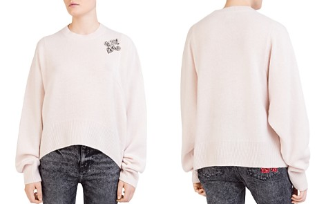 The Kooples Jeweled Cashmere Sweater - Bloomingdale's_2