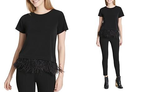 Calvin Klein Embellished Short Sleeve Top - Bloomingdale's_2