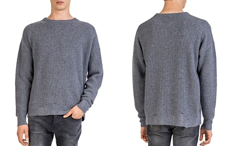The Kooples Distressed Cashmere Sweater - Bloomingdale's_2