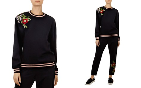 Ted Baker Maddeyy Embroidered Sweater - Bloomingdale's_2